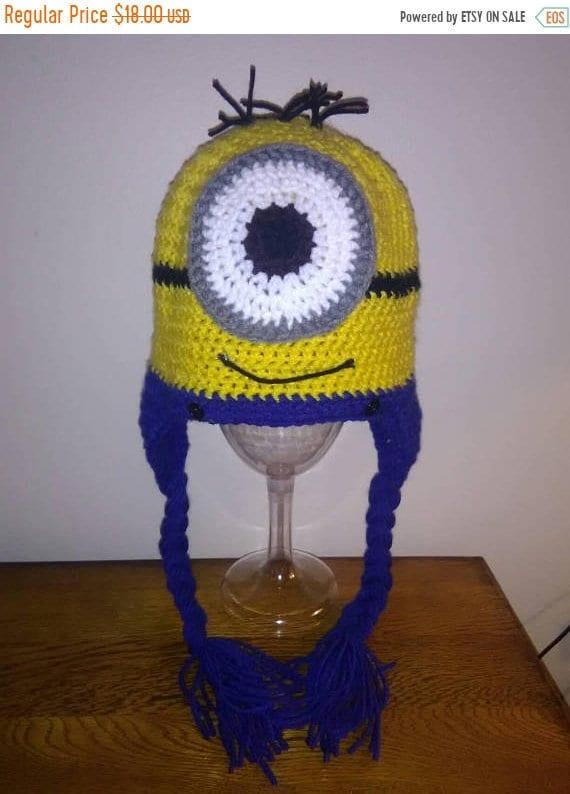 Minion Crochet Hat Etsy