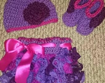 Girls Crochet outfit