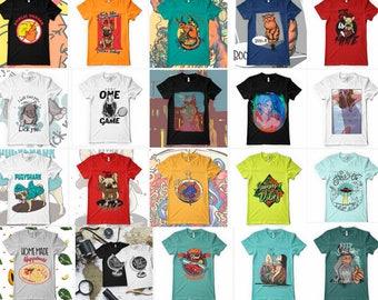 121 designs Vector packs t-shirt designs PSD PNG AI