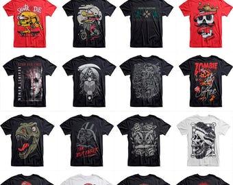 73 designs Vector packs t-shirt designs PSD