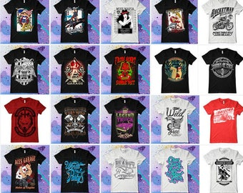 290 designs Vector packs t-shirt designs EPS & CDR