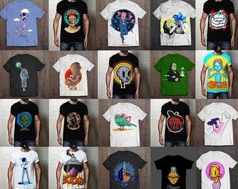 80 designs Vector packs t-shirt designs