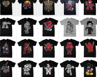 119 designs Vector packs t-shirt designs PSD AI CDR
