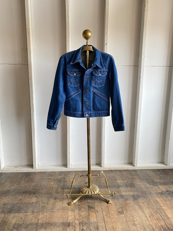 1960s Vintage Denim Maverick Jean Jacket Size
