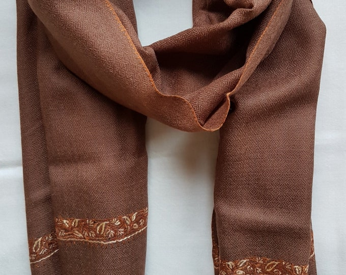 Zayna Royale Scarf - Brown