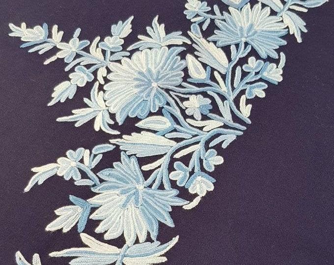 Grace Scarf - Navy Blue