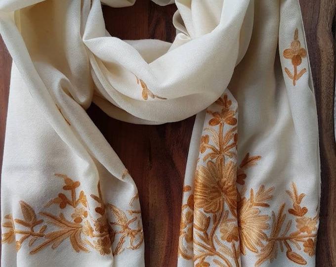 Grace Scarf - Creamy Closet White