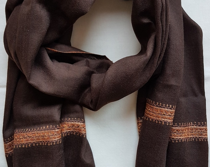 Zayna Royale Scarf - Chocholate
