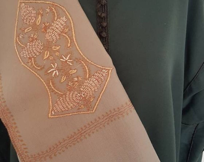 Zayn Sandala Shawl - Light Brown
