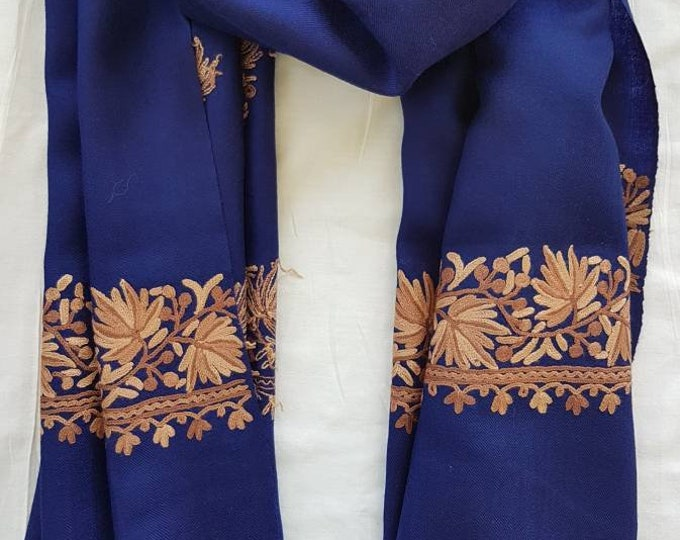 Sycamore Scarf - Royal Blue