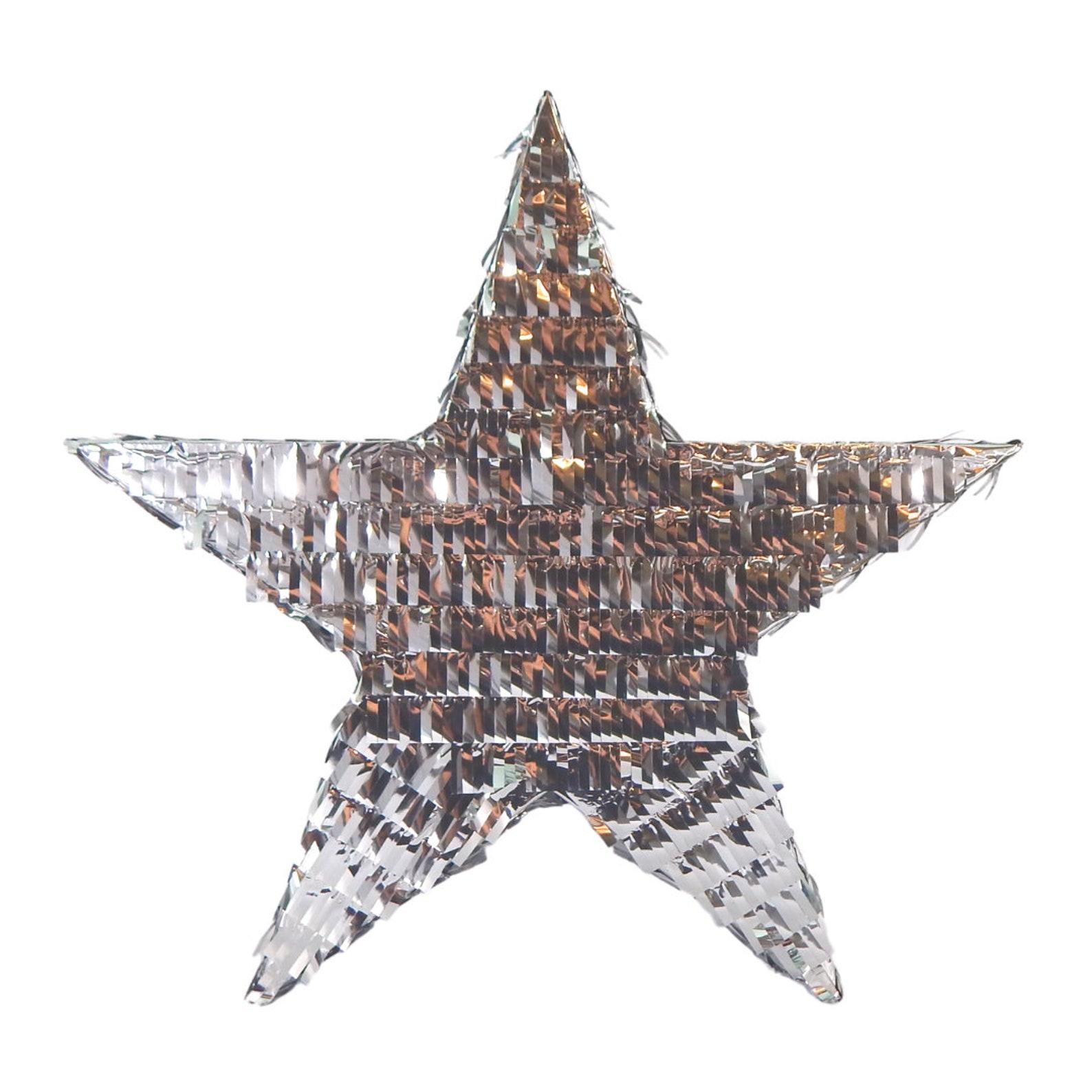 Foil Star Pinatas