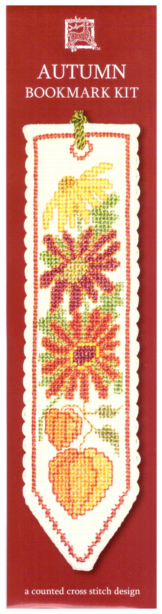 A Textile Heritage Counted Cross Stitch Bookmark Kit Baking