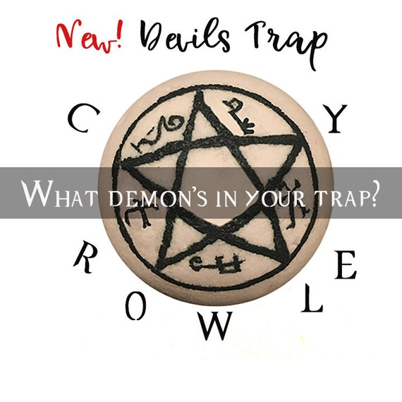 Supernatural Bath Bomb Devils Trap Etsy