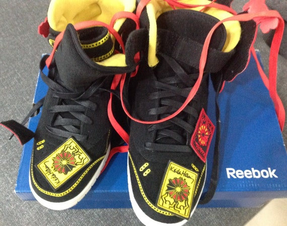 Keith Haring shoes reebok limited edition Exo Fit