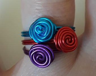 Stackable Rose Rings