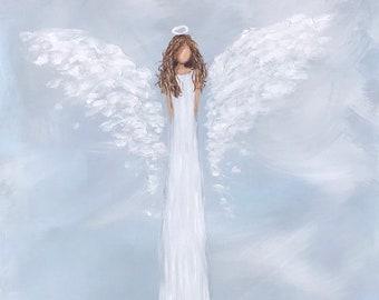 Angel Print of original angel artwork