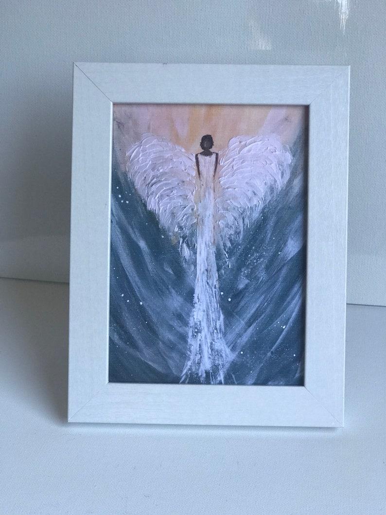 African American Angel Greeting Card