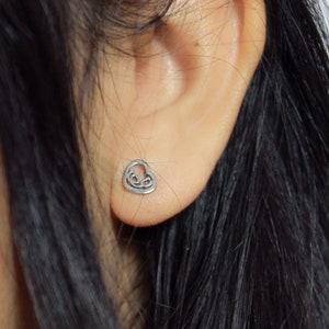 Mini Stethoscope Earrings 14k Rose Gold Sterling Silver Stethoscope Earrings Nurse Gift RN Nurse Earrings Nurse Graduation Doctor
