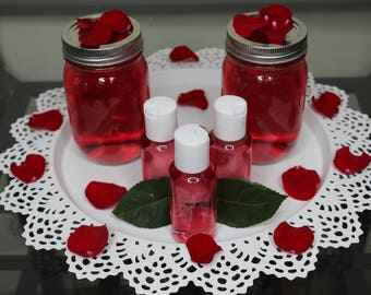 100% Pure and Organic Rose Water
