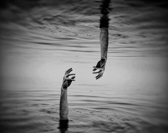 Between Two Worlds - Photographic Art Print