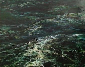 Large Seascape Ocean Painting
