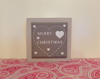 Mini Christmas Frame
