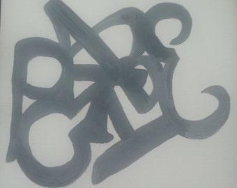 Custom name art