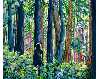 Forest in Sunshine-Cards