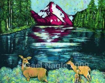 Alpine Paradise-Prints