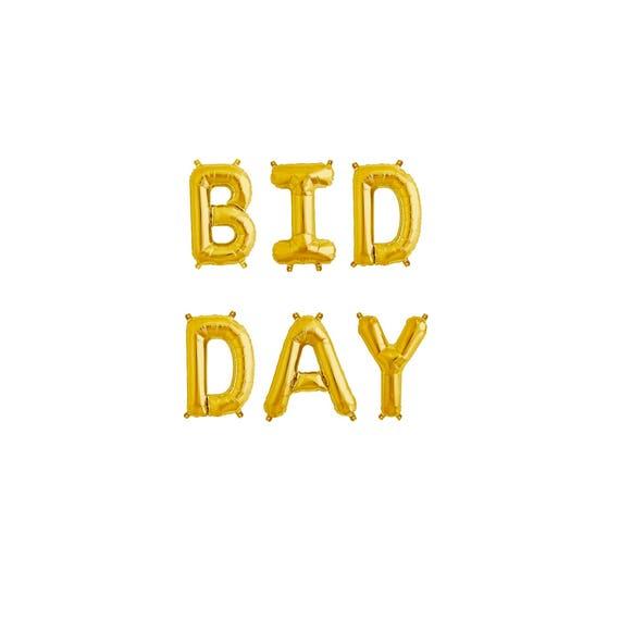 Bid day ideas