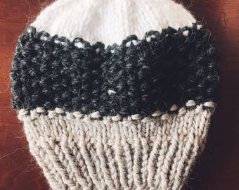 Chunky Knit Hat, Slouchy Hat | THE WANDERER | Knit Beanie