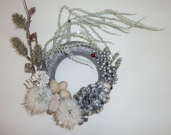 Wreath - 'A Winter's Tale' (small)