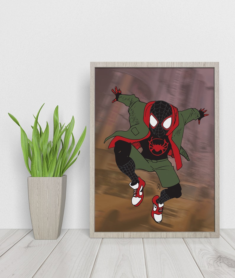 Ultimate Spider Man Into the Spiderverse Dematerialized Poster image 0