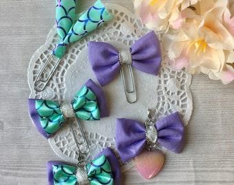 Purple mermaid accessories