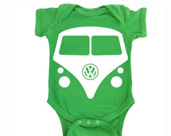1ae0a3e24 Baby boy clothes - Baby boy gift - Baby boy one piece - baby boy outfit - vw  bodysuit - vw bus shirt- Volkswagen baby - funny baby onepiece
