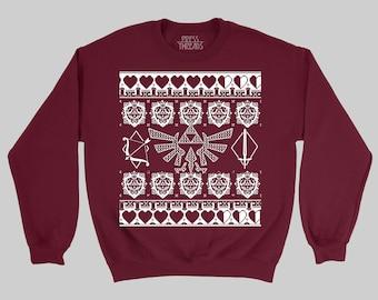Nintendo Christmas Sweater Etsy
