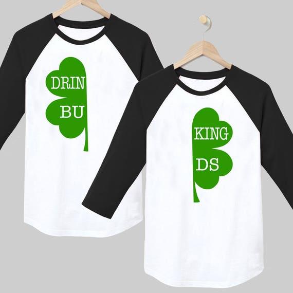 9f09a8eb2e4ce0 St Patricks Day Shirt Matching couples shirts St Patricks   Etsy