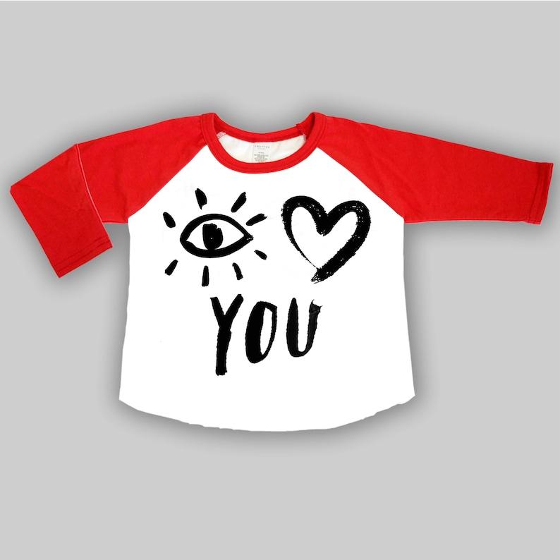612a78a03ba8 Pop Art Shirt I love you shirt Toddler boy clothes Baby   Etsy
