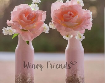 Valentines Day Home Decor Rae Dunn Inspired Vases With Etsy