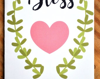 Southern Series Greeting Card-Bless Your Heart