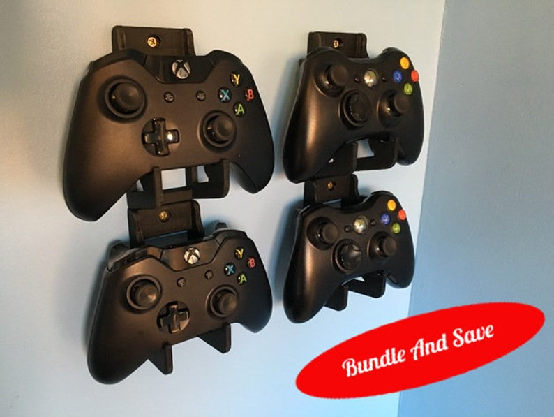 3D Printed Xbox One Controller Wall mount, Controller Stand, controller  holder, xbox controller, xbox one, xbox, controller, xbox one s