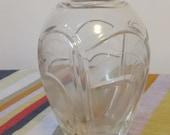 Vintage Rogaska lead crystal vase 6 inches signed