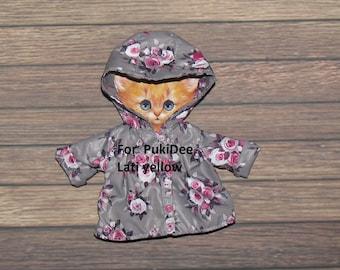 Coat for Lati yellow PukiFee Fairyland LUTS Tiny Delf,  Irrealdoll  BJD dolls clothes  tiny