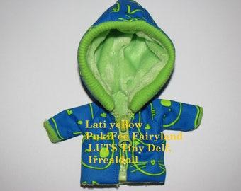 Jacket for Lati yellow PukiFee Fairyland LUTS Tiny Delf,  Irrealdoll  BJD dolls clothes  tiny