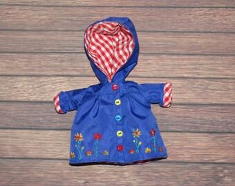 Blue_Coat for Lati yellow PukiFee Fairyland LUTS Tiny Delf,  Irrealdoll  BJD dolls clothes  tiny