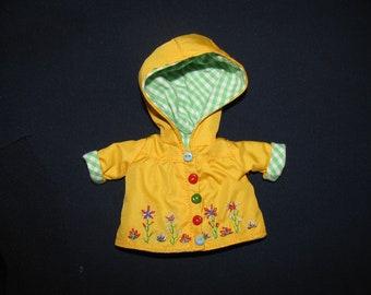 Yellow_Coat for Lati yellow PukiFee Fairyland LUTS Tiny Delf,  Irrealdoll  BJD dolls clothes  tiny