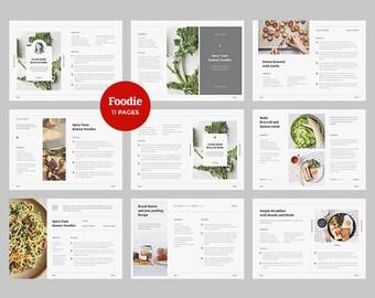 Foodie - Cookbook Template