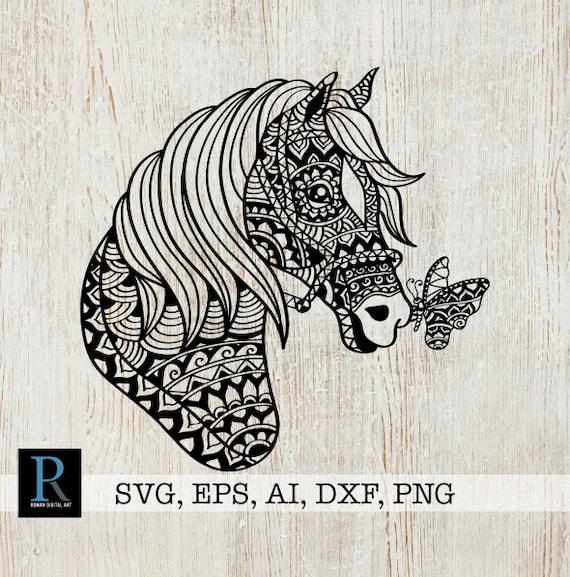 mandala pferd