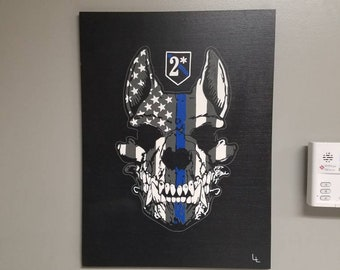 Police Art Etsy