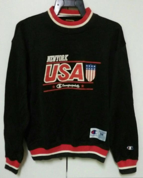 Vintage Champion crew Sweatshirt,big spell out wit